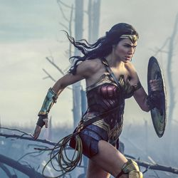 """This image released by Warner Bros. Entertainment shows Gal Gadot in a scene from """"Wonder Woman,"""" in theaters on June 2. (Clay Enos/Warner Bros. Entertainment via AP)"""