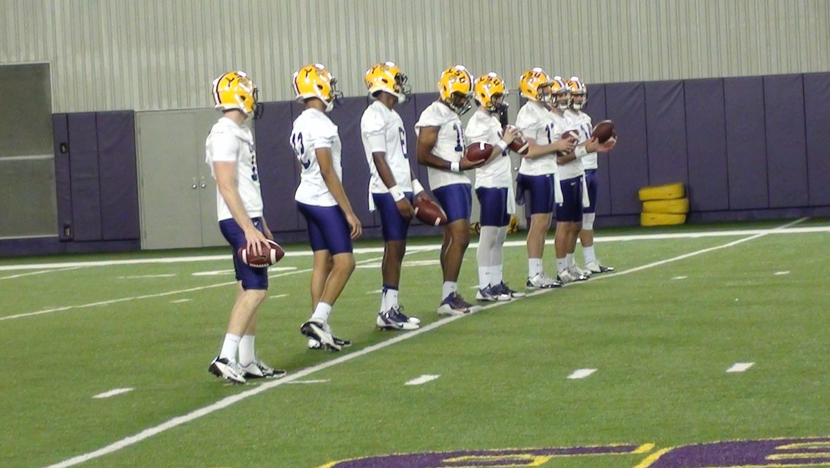 Spring Practice Day 2