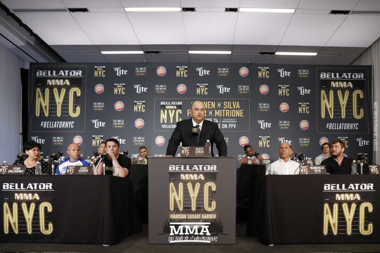 Scott Coker expects another Bellator pay per view early next year