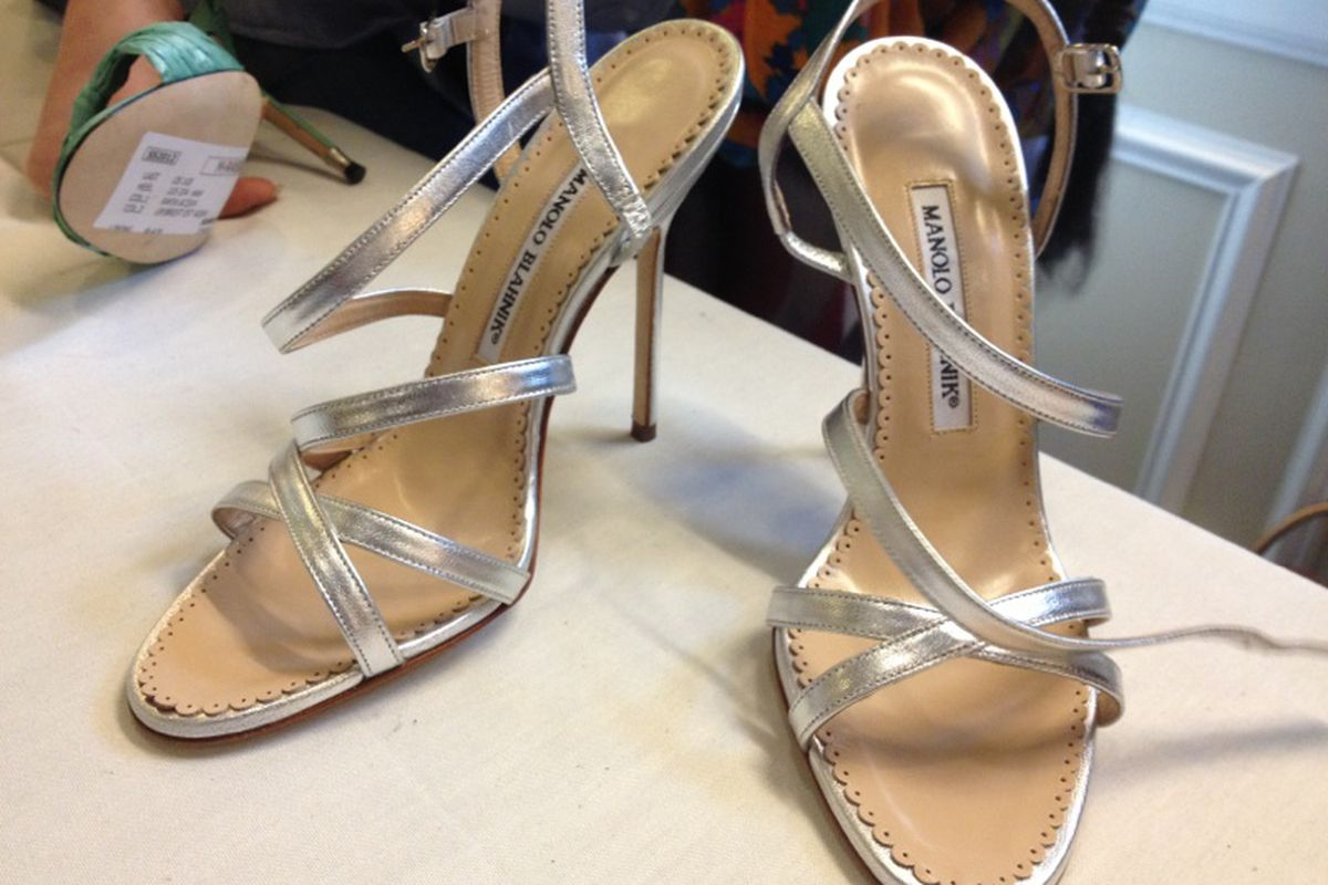 cc7962e05d863 Update: The Manolo Blahnik Sample Sale Returns Next Week - Racked NY