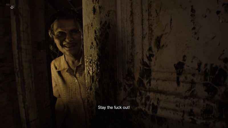 creepy attic door resident evil 7 walkthrough 3 0 old house all sections polygon