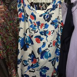 Floral sleeveless top, $40