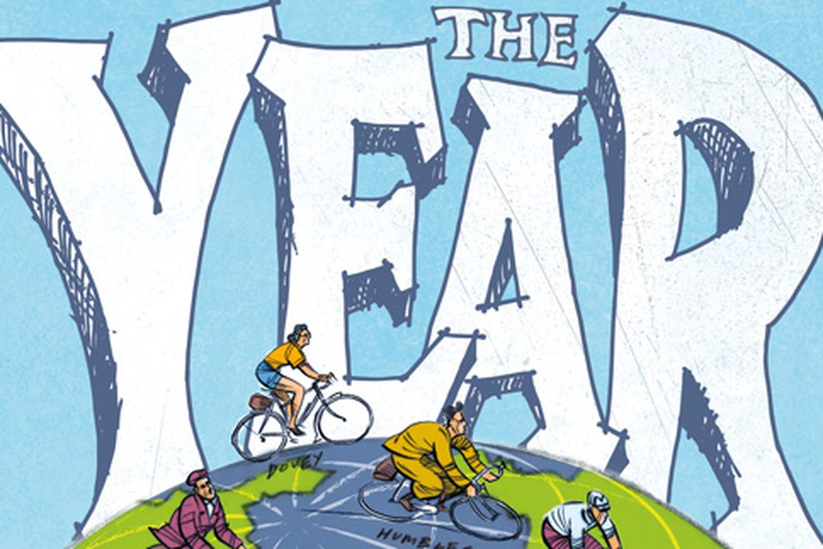 The Year - Reawakening the Legend of Cycling's Hardest Endurance Record, by Dave Barter