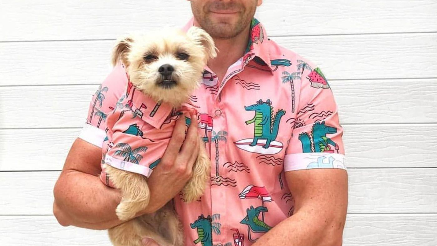 HELLO You Can Buy Matching Hawaiian Shirts For You And Your Dog