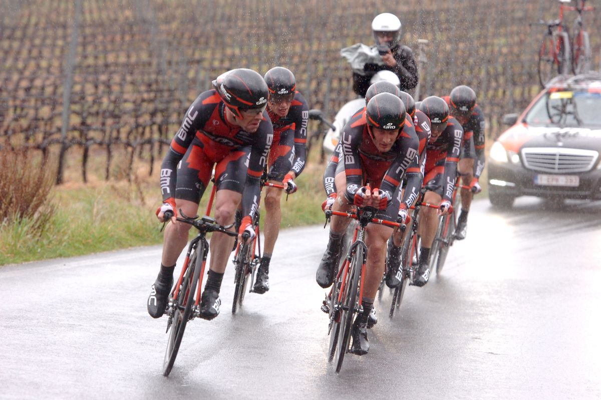BMC came out of today's TTT better than most. Will it give Cadel Evans the cushion he needs to win the overall?
