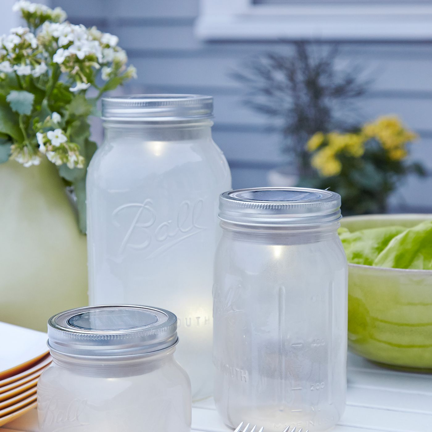 How To Make Mason Jar Patio Lights