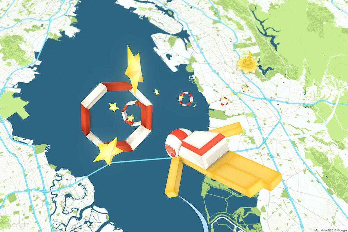Map diving illustration (Credit: Instrument/Google)