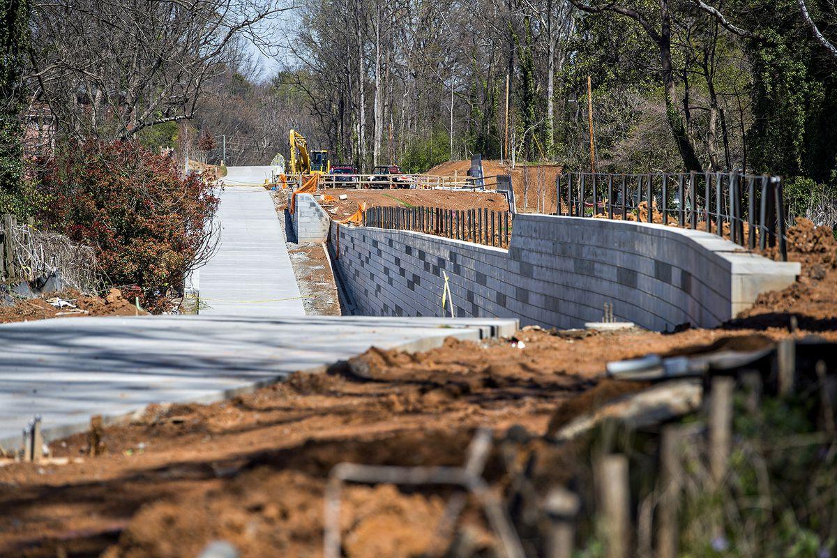The Atlanta Beltline's Westside Trail in March 2017.