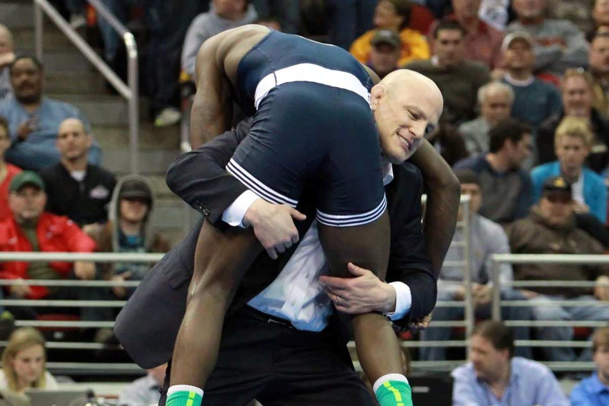NCAA wrestling championships 2014 Division-1 results recap