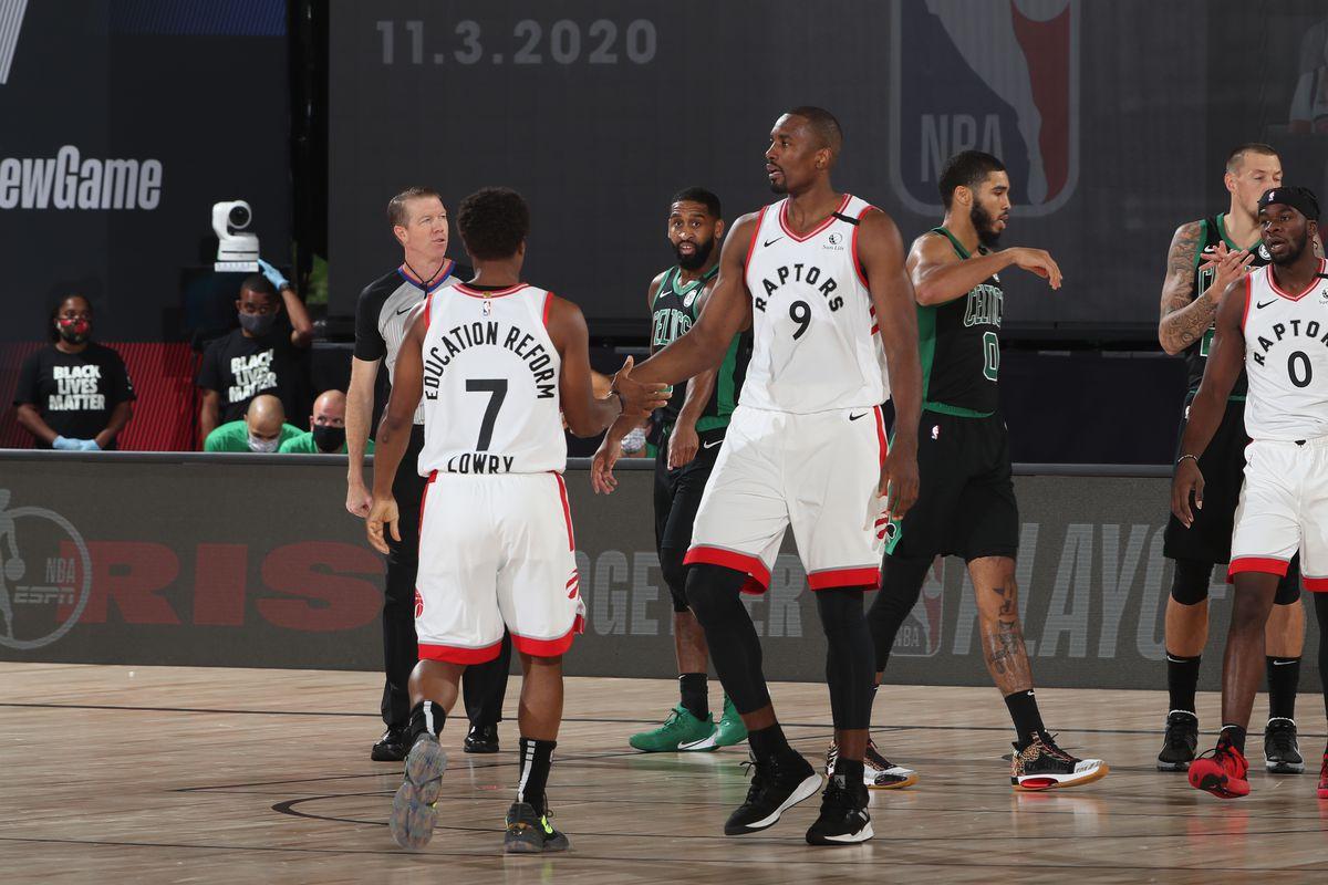 Boston Celtics v Toronto Raptors - Game One