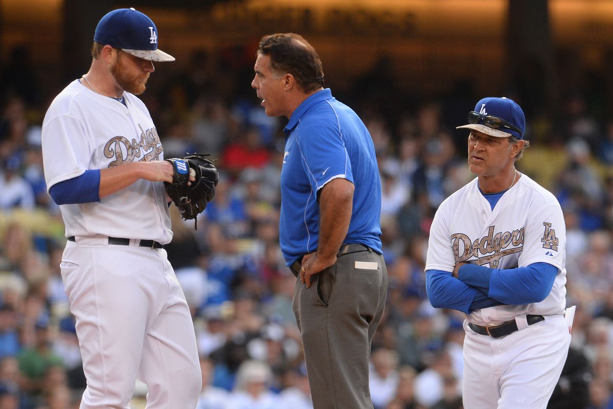 Brett Anderson convinced trainer Stan Conte and manager Don Mattingly he was fine to continue pitching, and he was right.