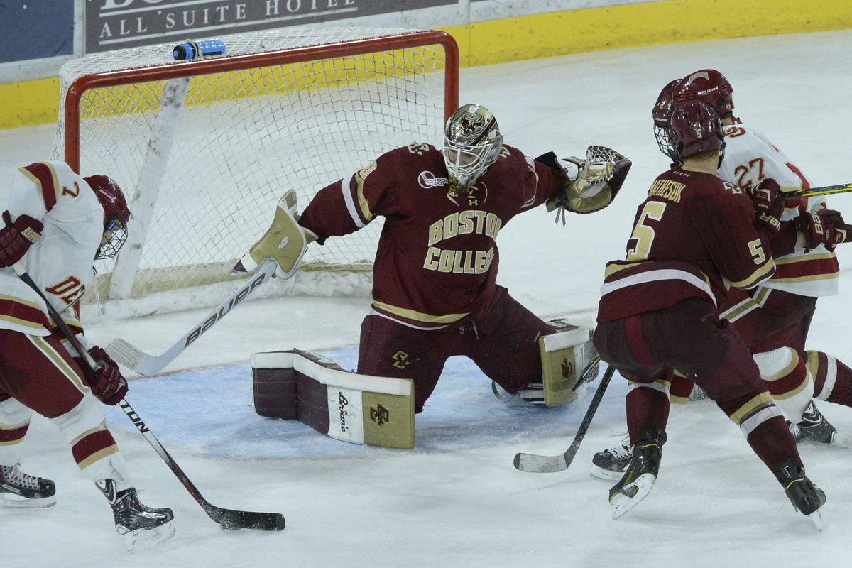 Boston College Men's Hockey Loses 6-4 to Denver