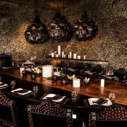 The private dining room at Javier's.