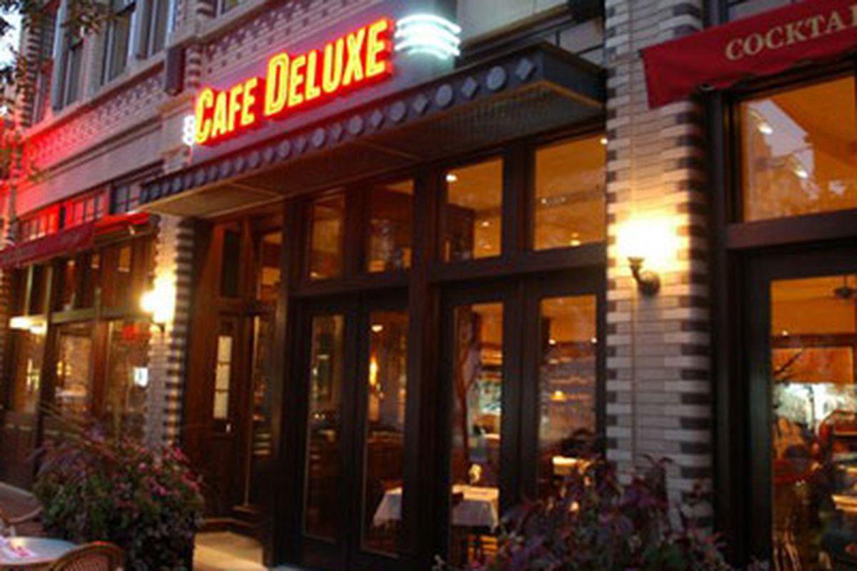 Cafe Deluxe Was Washington Dc Menu