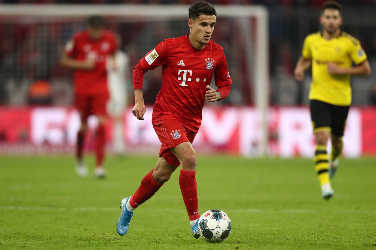 Daily Schmankerl: Bayern will not buy Coutinho, interested in Emre Can, Hoeness steps down, James hurt, and Conte sent a bullet