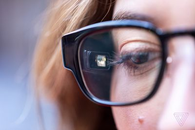 108571e0154 The glasses  technology generally works well. They pair over Bluetooth to  your phone and act like any other wearable. They show notifications