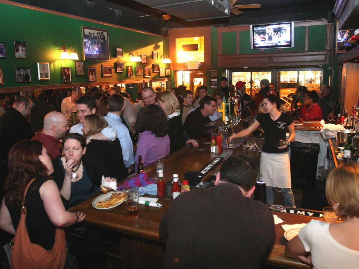 Stoney's in Logan Circle is one stop on Saturday's Irish whiskey crawl