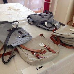 Bags, $74