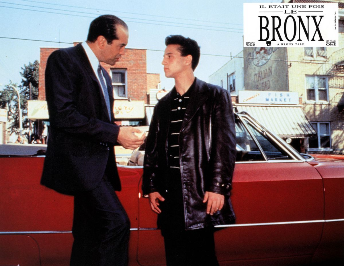 Brancato starred in 'A Bronx Tale,' Robert De Niro's directorial debut. (Photo 12/ Alamy StockPhoto)