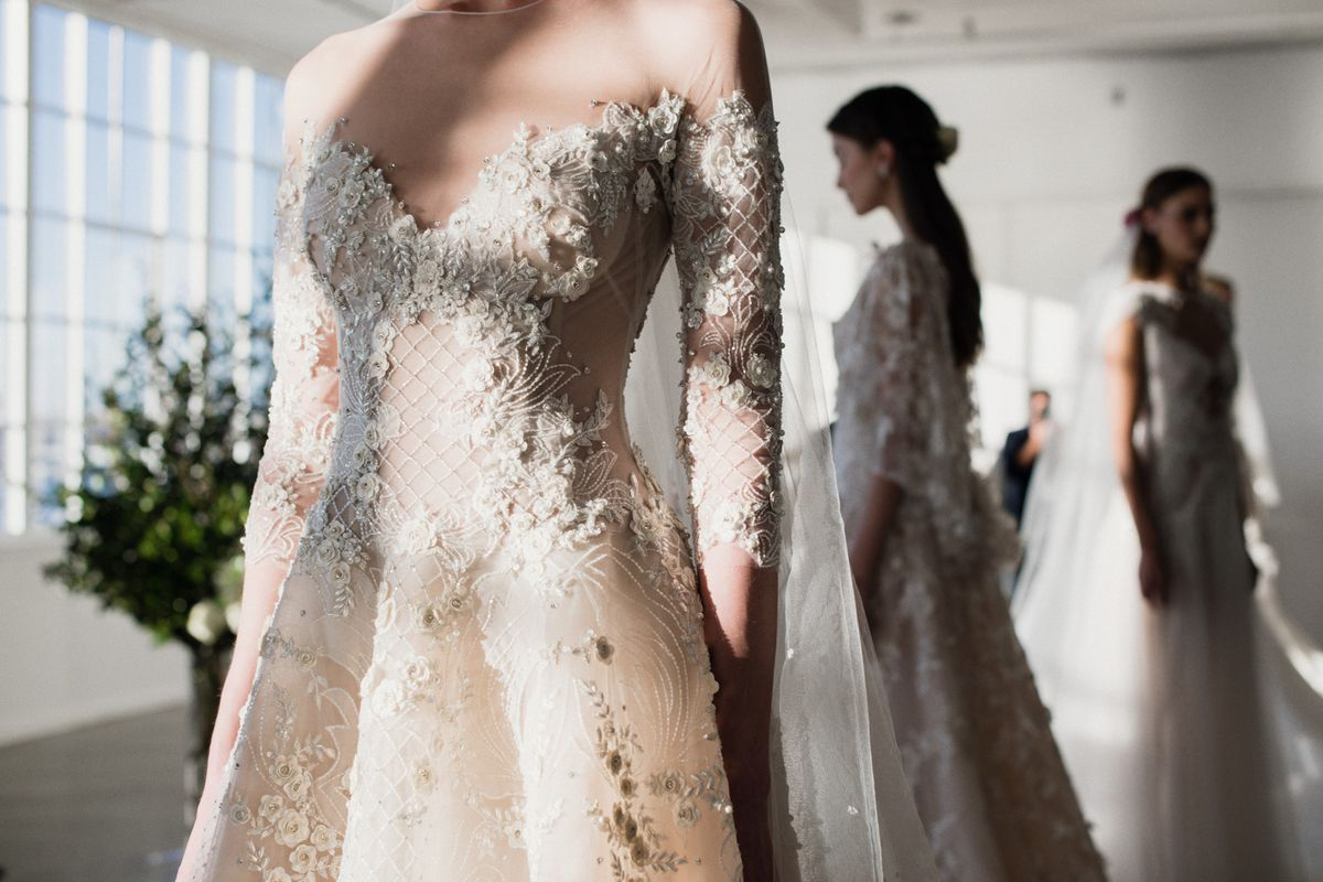 ce77e99bfe8 Marchesa wedding dresses. Photo  Shawn Brackbill for Racked ...