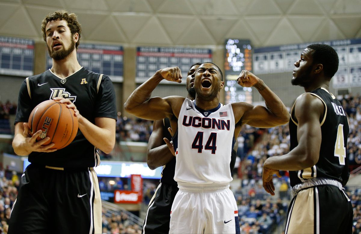 Rodney Purvis was fired up Thursday night at Gampel Pavilion.