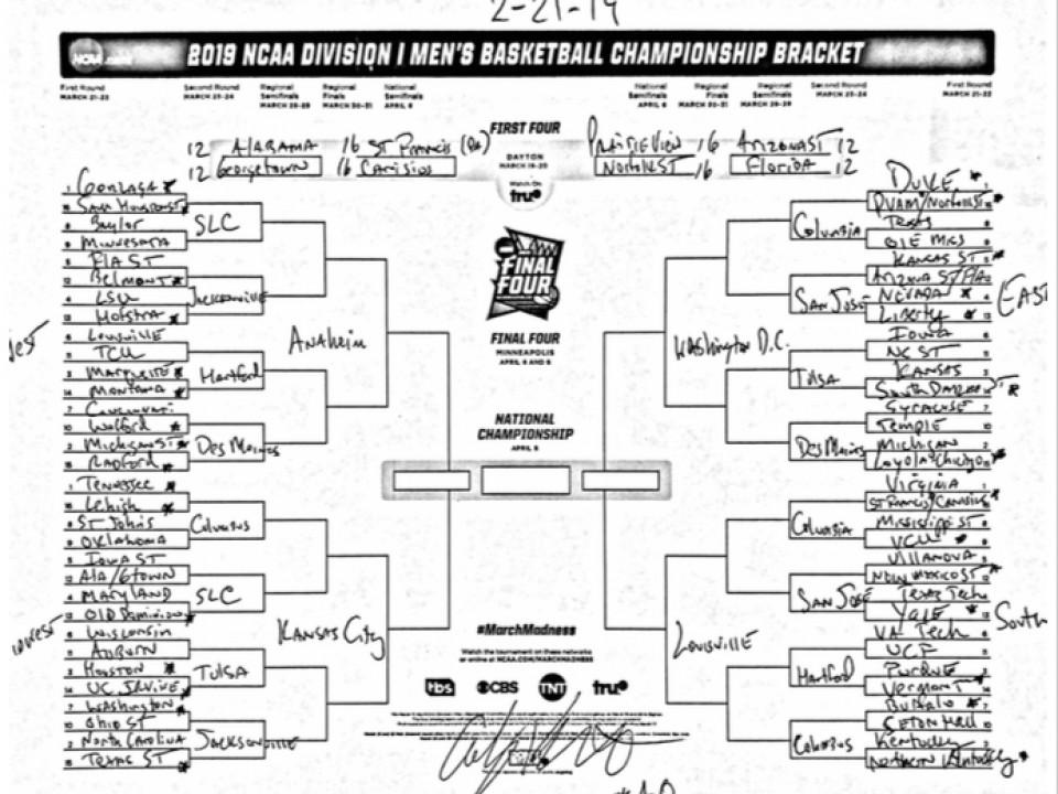 Ncaa Bracketology Kentucky Is No 1 Seed Uc Bearcats No: College Basketball Bracketology Roundup With March Madness