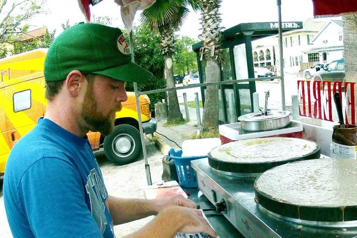 Sean Carroll of Melange Creperie will soon ditch the cart full-time for a brick and mortar location.
