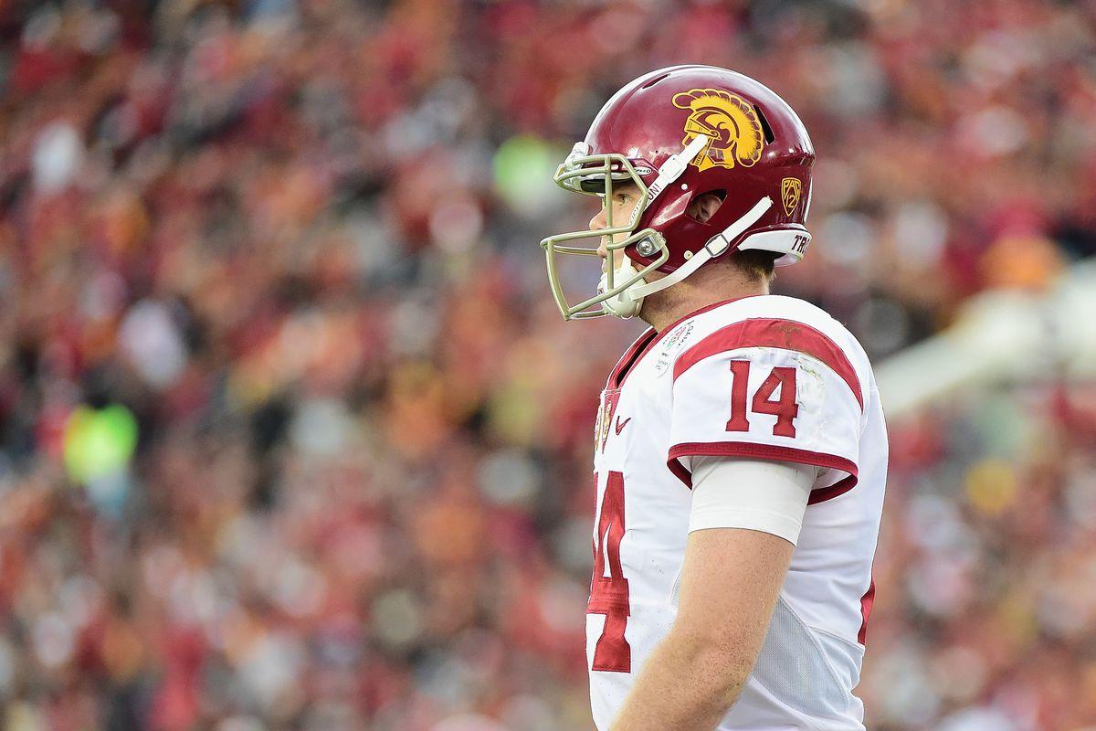pretty nice 4f9c9 1b128 USC Trojan Football: Why Sam Darnold Should Forgo the 2018 ...