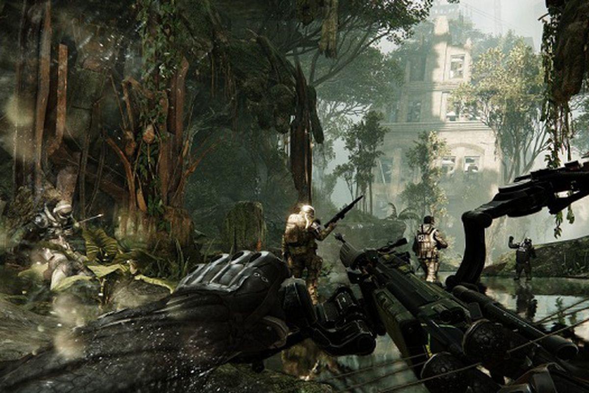 crysis hunter