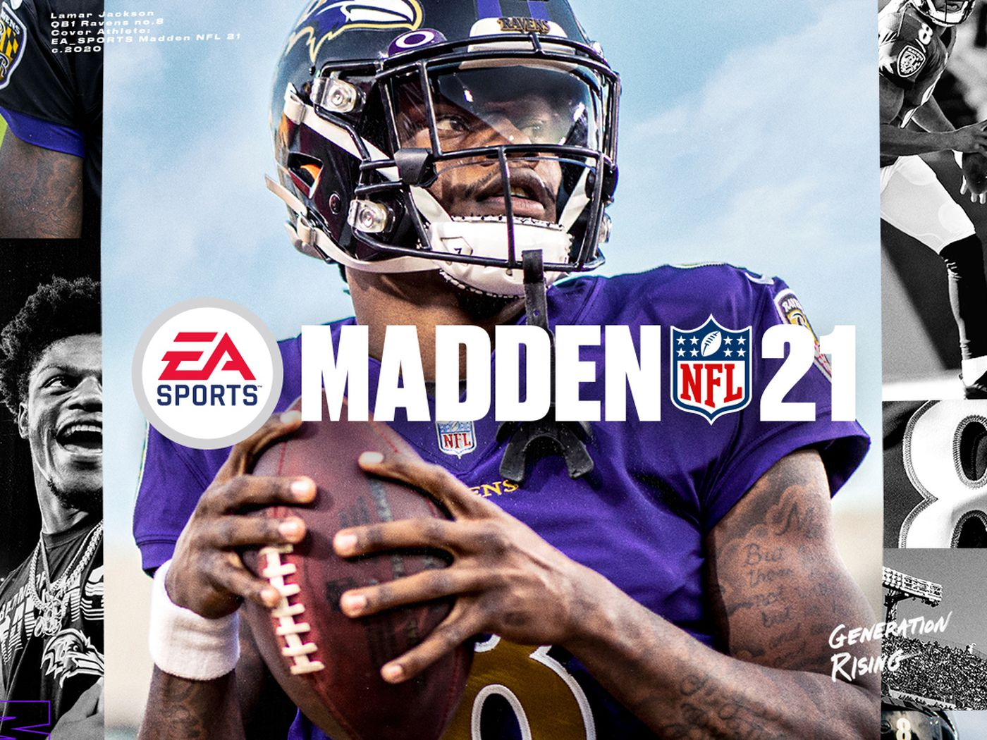 Madden 21 Cover Features Mvp Lamar Jackson Chicago Sun Times