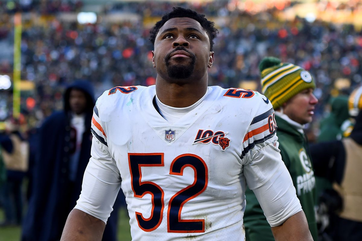 Khalil Mack came into the season looking for his fifth consecutive Pro Bowl selection.