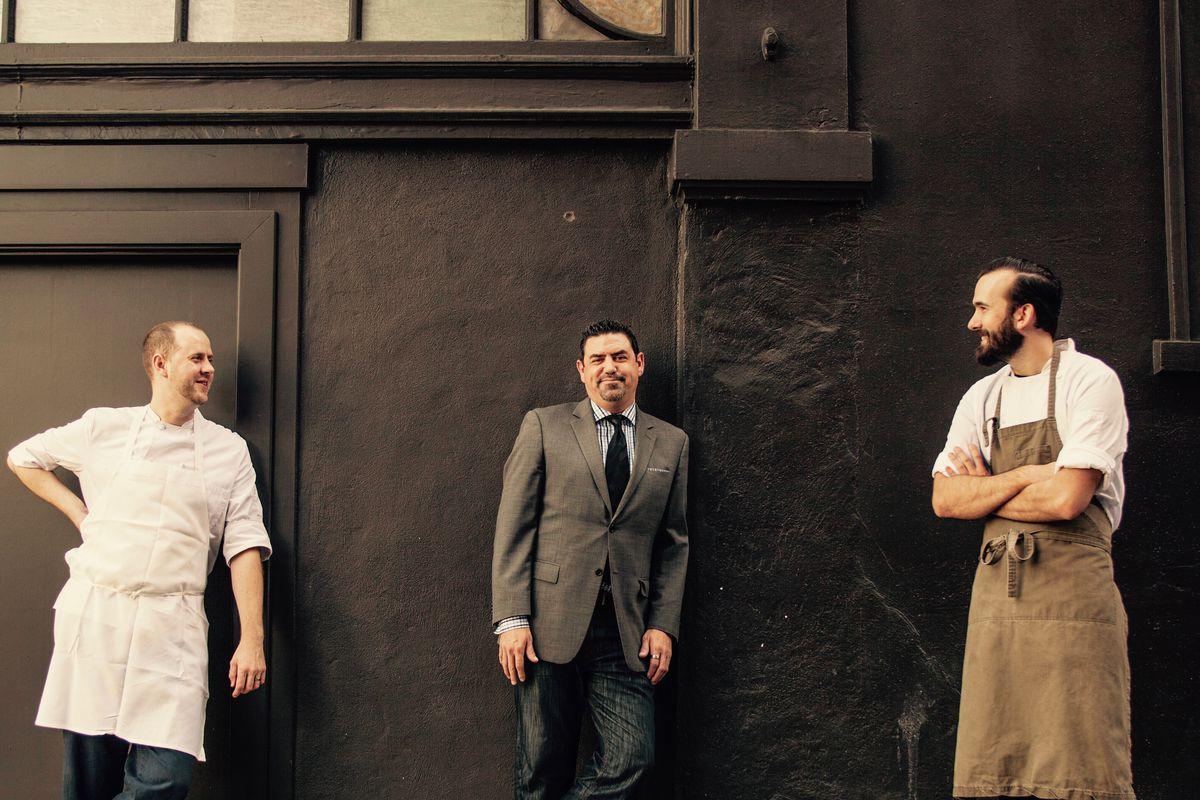 The New Team COI: [L-R] Matthew Kirkley, Mark Mendoza and Nick Muncy