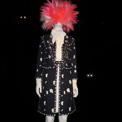 The Chanel Suit Goes Punk