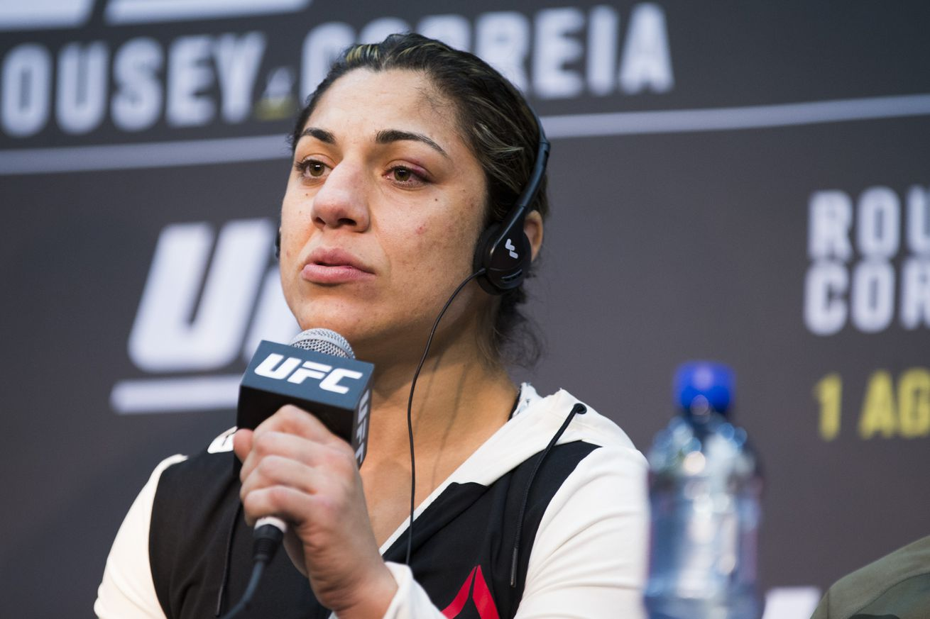 Bethe Correia is scheduled to have eye surgery next week.