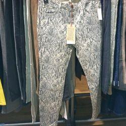 Current/Elliott Snakeskin Jeans, $41