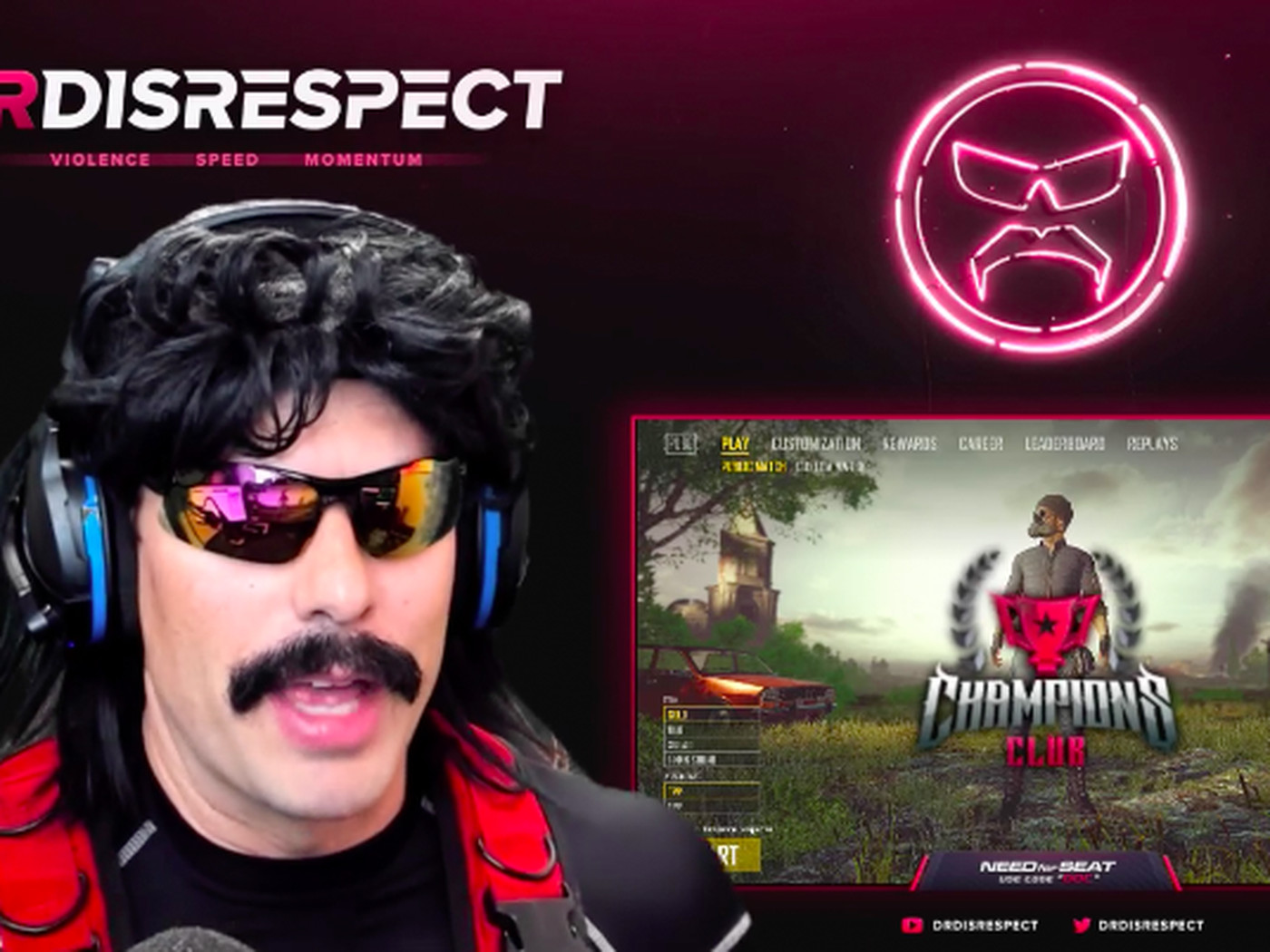 A Twitch emote trolled Dr  DisRespect, disappeared, then