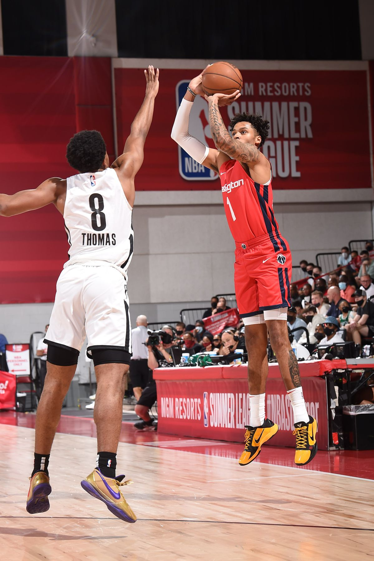 2021 Las Vegas Summer League - Washington Wizards v Brooklyn Nets