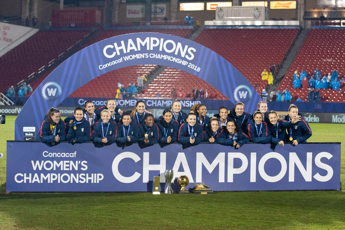SOCCER: OCT 17 CONCACAF Women's Championship - Canada v USA