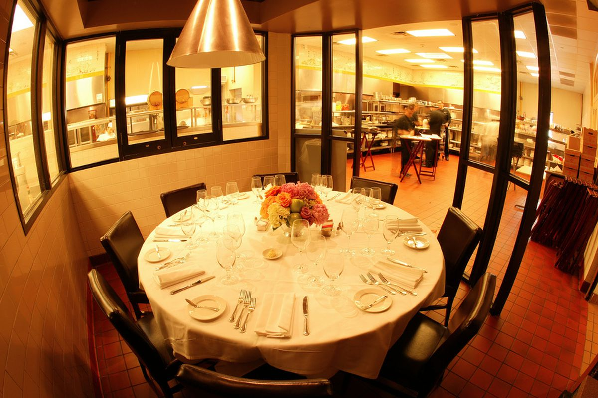 The chef's table at Brennan's is an appropriate fancy spot for the right occasion
