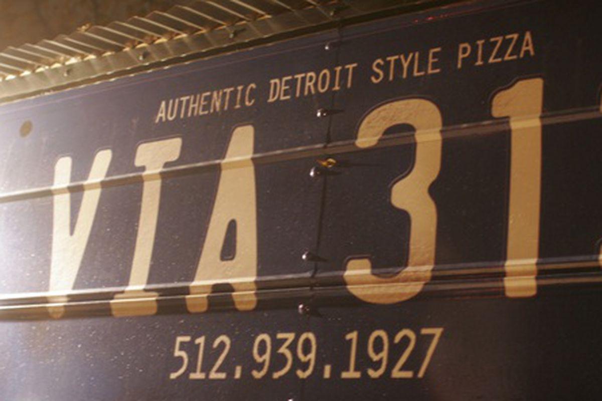The Via 313 pizza truck.