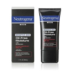 """Your face is important, so keep it protected with this oil free SPF moisturizer that won't clog your pores. <strong>Neutrogena Men</strong> Oil Free Moisture SPF 30, <a href=""""http://www.walgreens.com/store/c/neutrogena-men-oil-free-moisture-spf-30/ID=prod"""