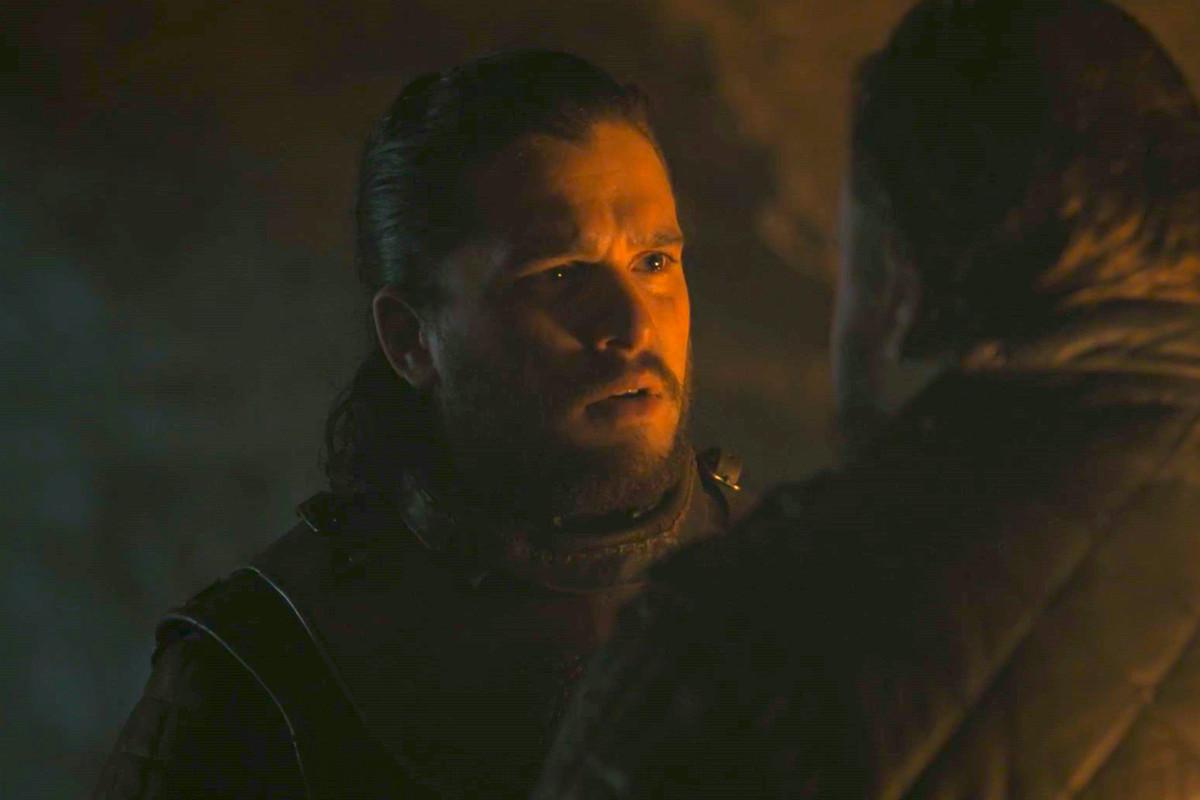 jon snow game of thrones season 8 premiere