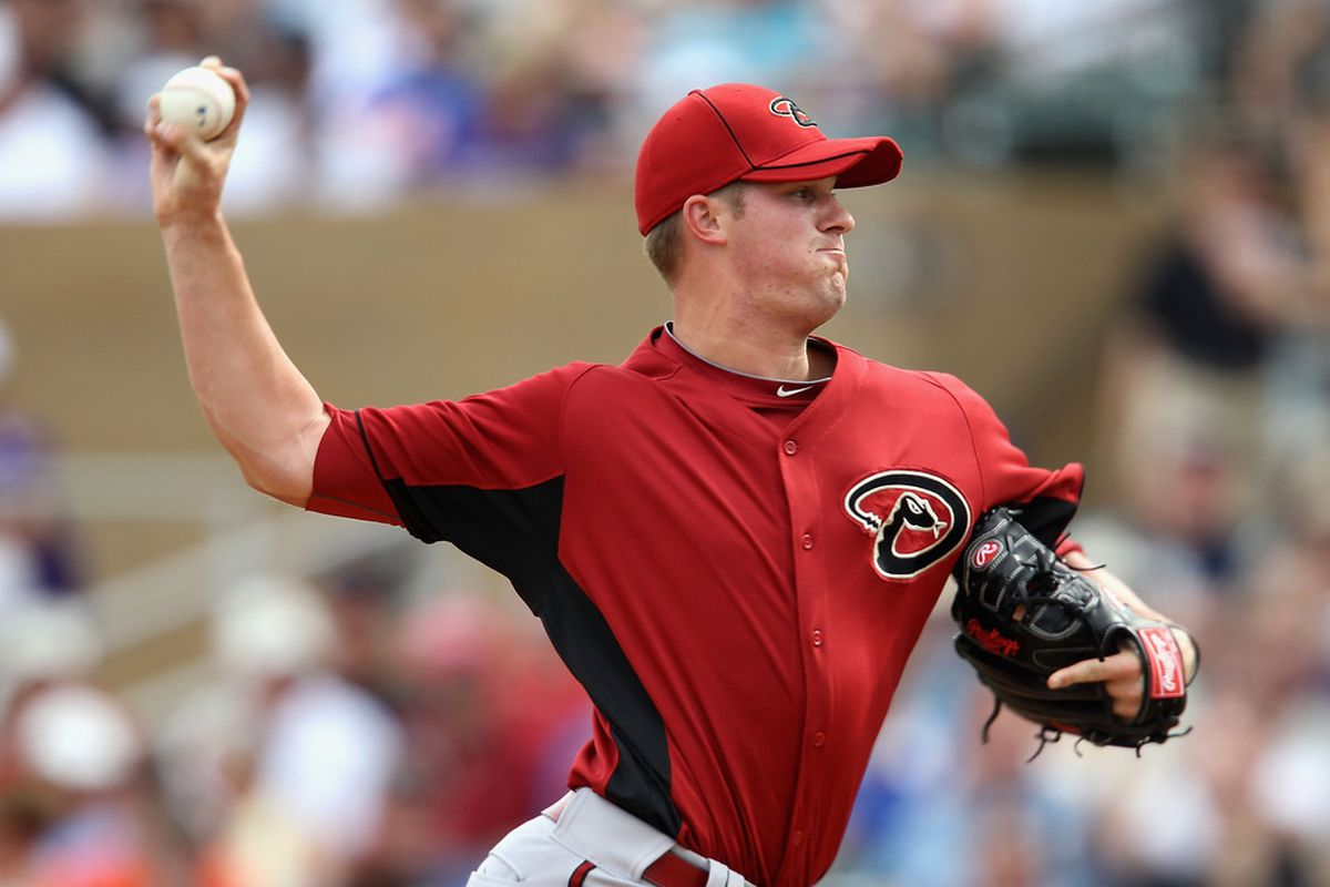 While A.J. Pollock's performance was the highlight of the D-backs affiliates on Friday night, right-hander Charles Brewer also fared very well in his first start of the season.