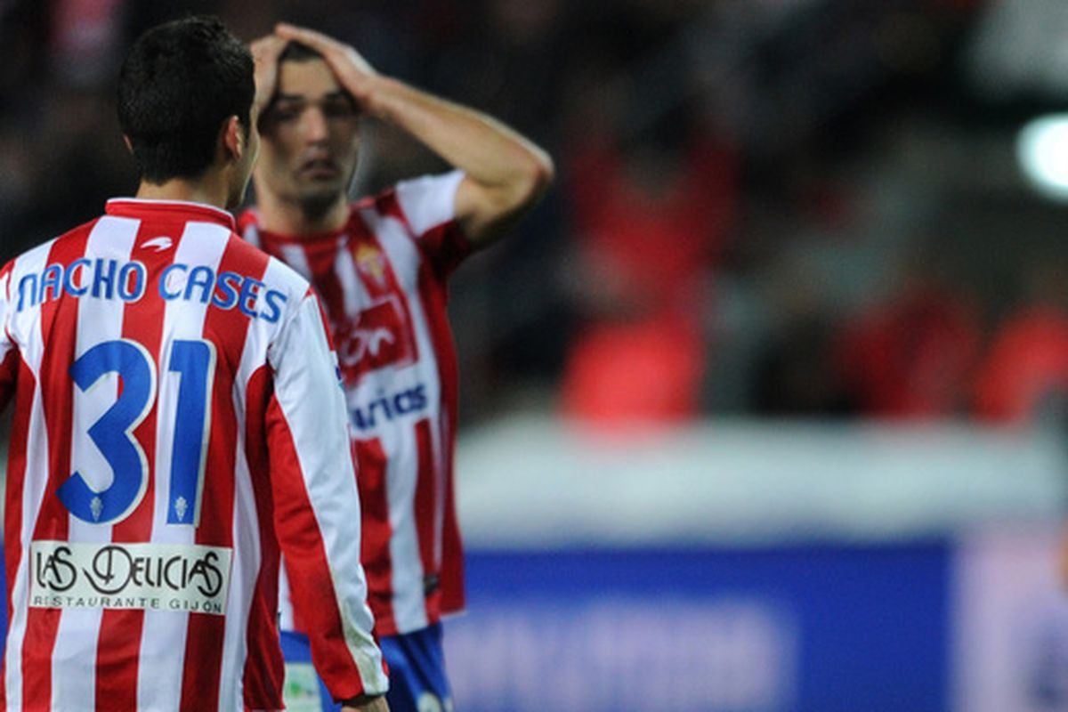 Sporting Gijón's revival hits a bump in the road, or maybe in the Sabadell pitch