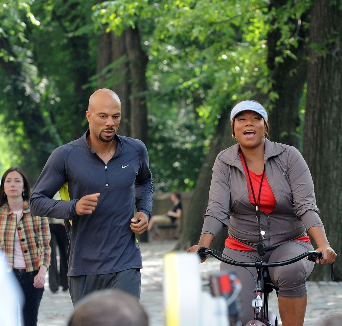 Common Star and Queen Latifah at Just Wright