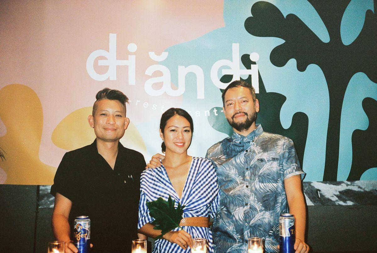 Dennis Ngo, Kim Hoang, and Tuan Bui