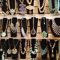 A Main Line staple, the boutique houses a mix of vintage and unique, contemporary jewelry; prices range from $35 to the thousands for fine pieces.