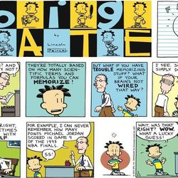 """The comic """"Big Nate"""" appears in more than 200 U.S. newspapers and eight chapter books. This is the comic for Sept. 23, 2012."""