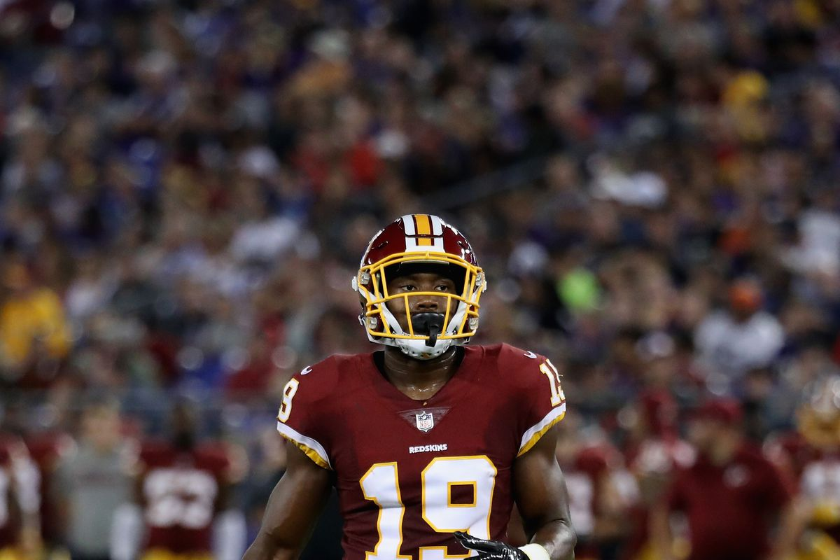 cheap for discount da1a6 bb98b Redskins Roster Moves: WR Robert Davis signed from PS; G ...