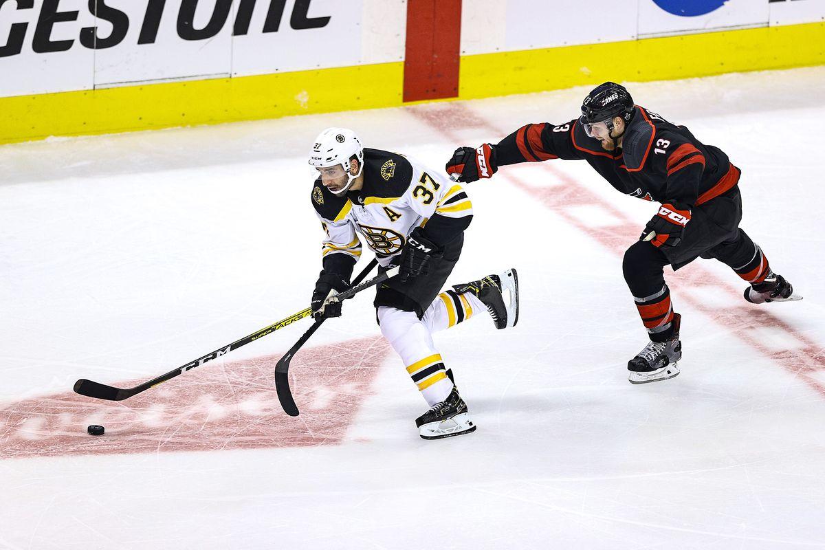 Boston Bruins v Carolina Hurricanes - Game Four